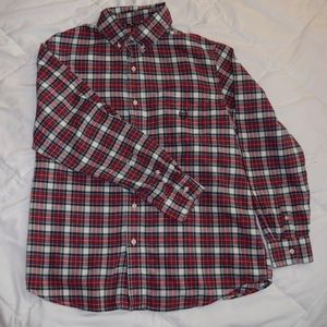 Men's Chaps, flannel, long sleeve, large
